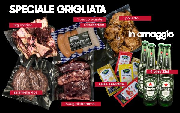 Promo Speciale Grigliata